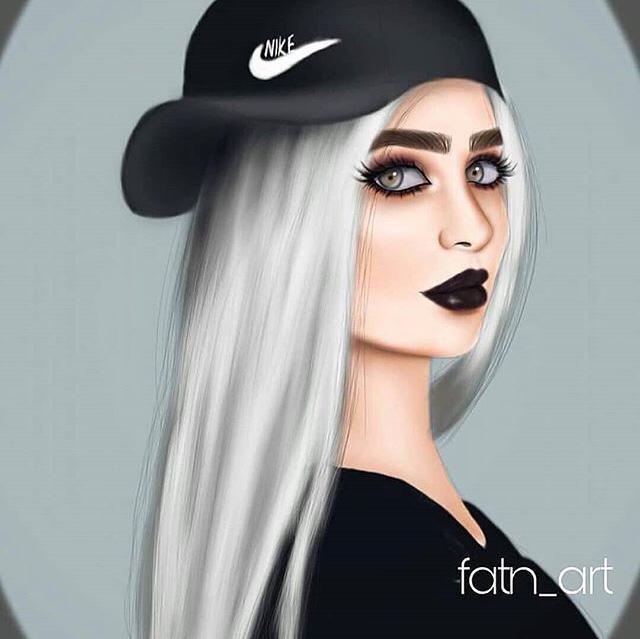 Pin By Lucia Daponte Conde On Drawings Digital Art Girl Cute Girl Drawing Sarra Art