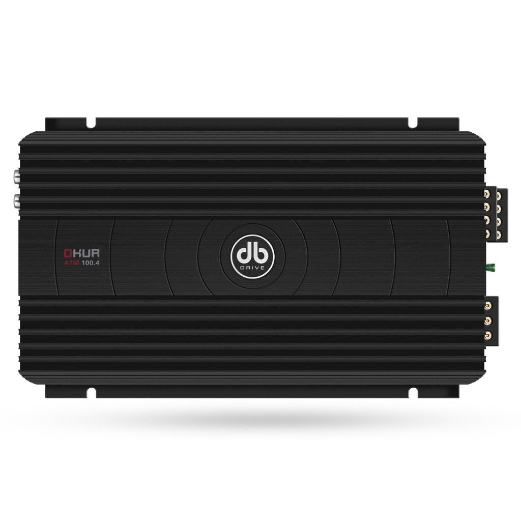 Amplificador DB Drive A7M-100.4 Clase AB 4 Canales Serie A7M de 800 Watts.