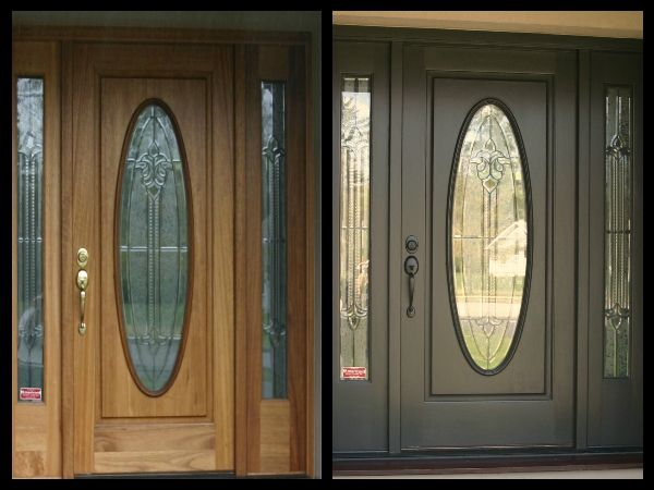 A Dated Front Door Is Like Gray Hair On Your House - Color It ...
