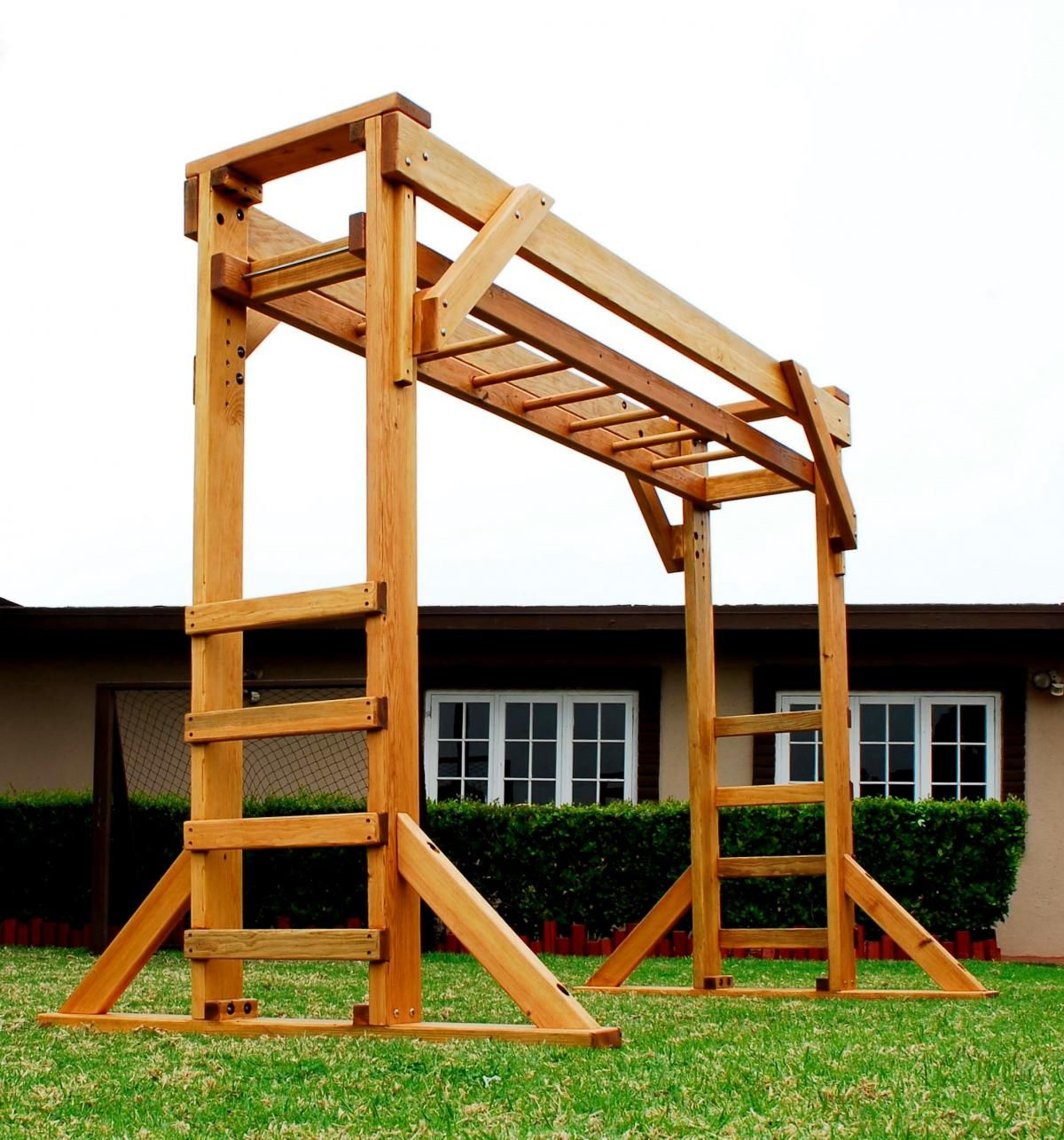 Monkey Bar Sheldon S Monkey Bar Options 7ft H 9ft L Douglas Fir 1