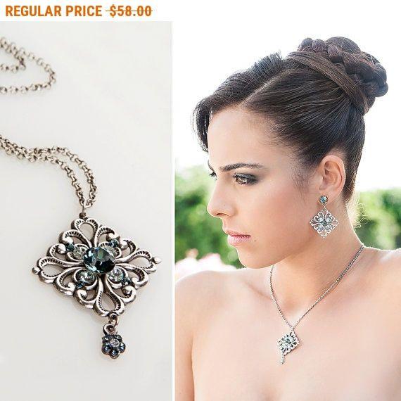 20% OFF - CIJ SALE Art deco jewelry, Art deco necklace, Art deco wedding, Art deco bridal jewelry, Bridal jewelry, Art deco bridal necklace