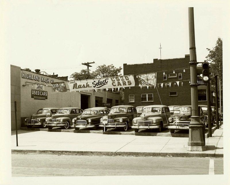 Glory Days: Vintage, Pre-Carpocalypse Auto Dealerships | Vintage Car ...