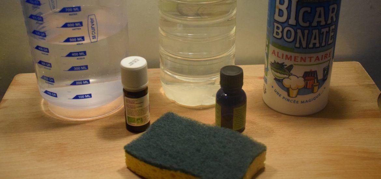 Spray Nettoyant Maison Vinaigre Blanc Bicarbonate De Soude