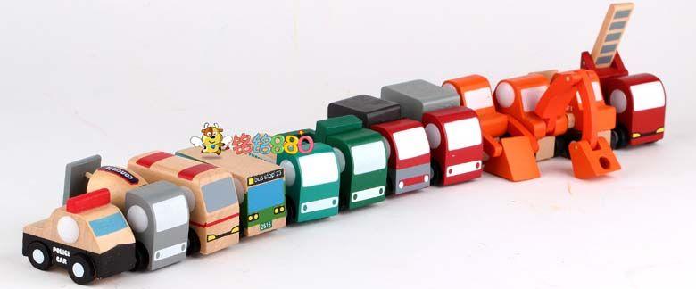 W00den mini car деревянный мини самолет / автомобилей строка деревянный ребенок игрушка установите 12 модель - Интернет-магазин Таобао в Иркутске   2Tao.ru - доставка товаров из Китая