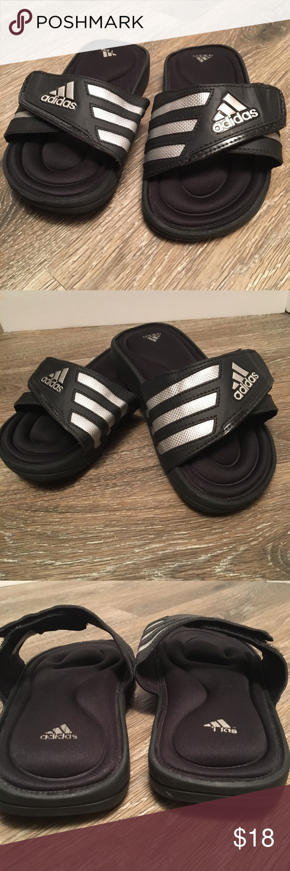 e9a5990b0f783d Kids Adidas sandal - size 13 Adidas sandal with foam soles for maximum  comfort for little feet! Velcro cross strap. Excellent condition adidas  Shoes Sandals ...
