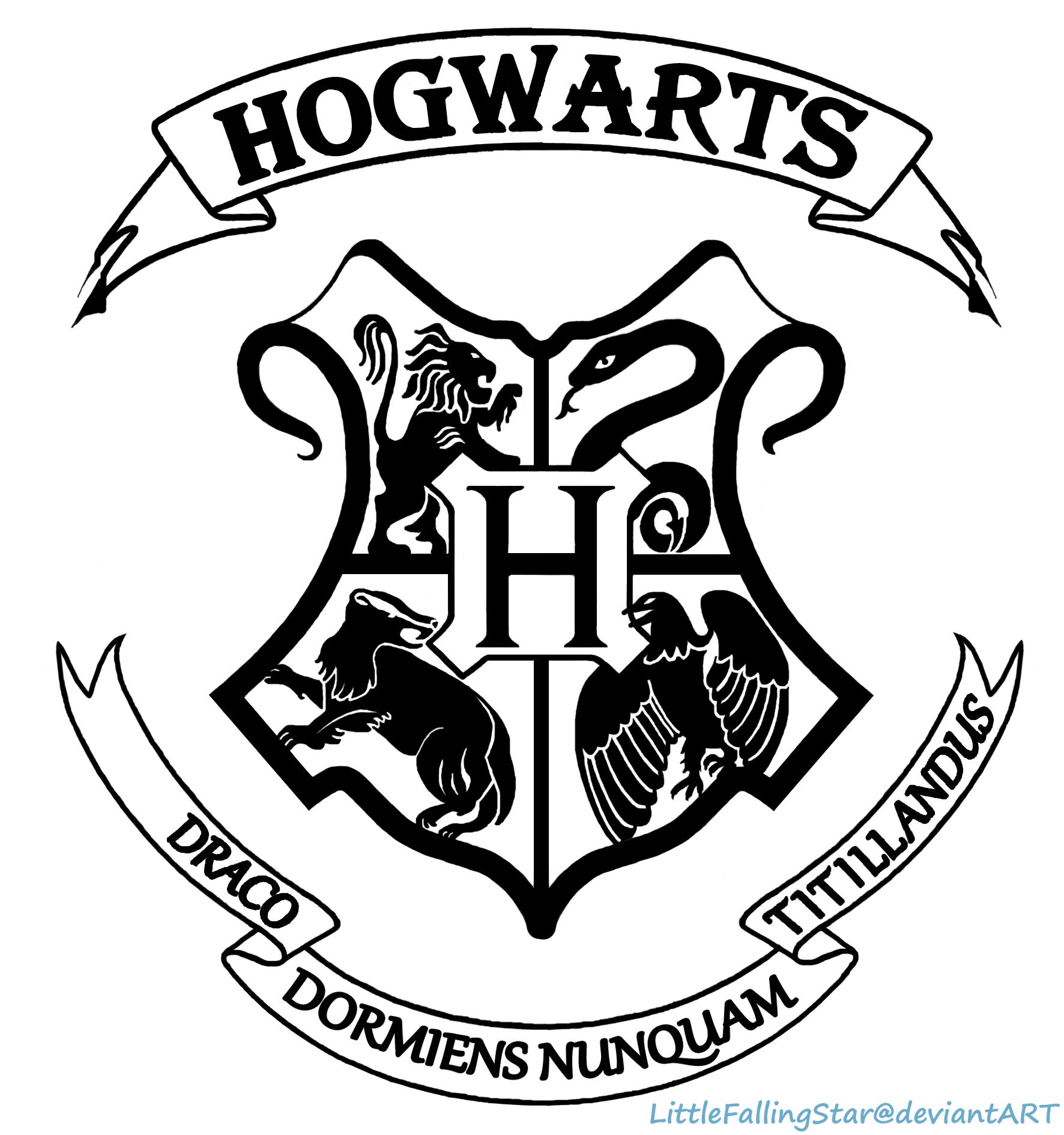 Hogwarts Crest by Litt...