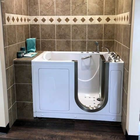 Check Out The Beautiful Work From Tri State Mobility One Of Our Newest Ella Walk In Bathtub Dealers In Kentucky They Just Finished In Walk In Tubs In 2019