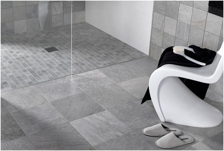 White Mosaic Floor Tiles Wet Room Shower Google Search Shower