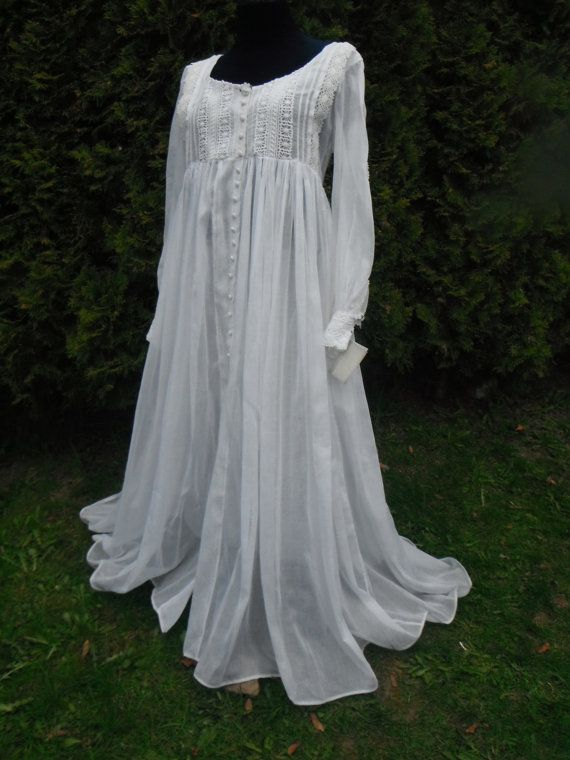 fa78db2998 THE GABRIELLE NIGHTGOWN-Victorian Inspired Vintage Nightgown