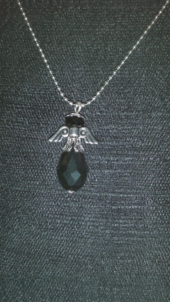 Crystal Angel #2 Necklace Wicca