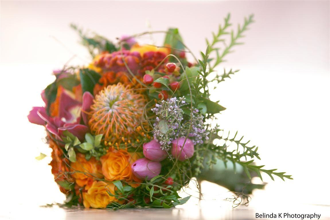 Wedding bouquet for Eulalie D