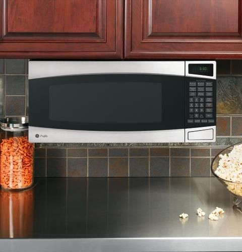 Ge Profile Spacemaker Ii 1 0 Cu Ft Microwave Oven Pem31smss