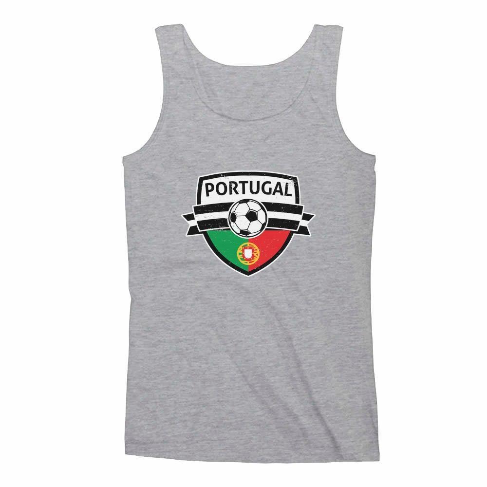 Tstars Portugal Soccer//Football Team Fans Singlet