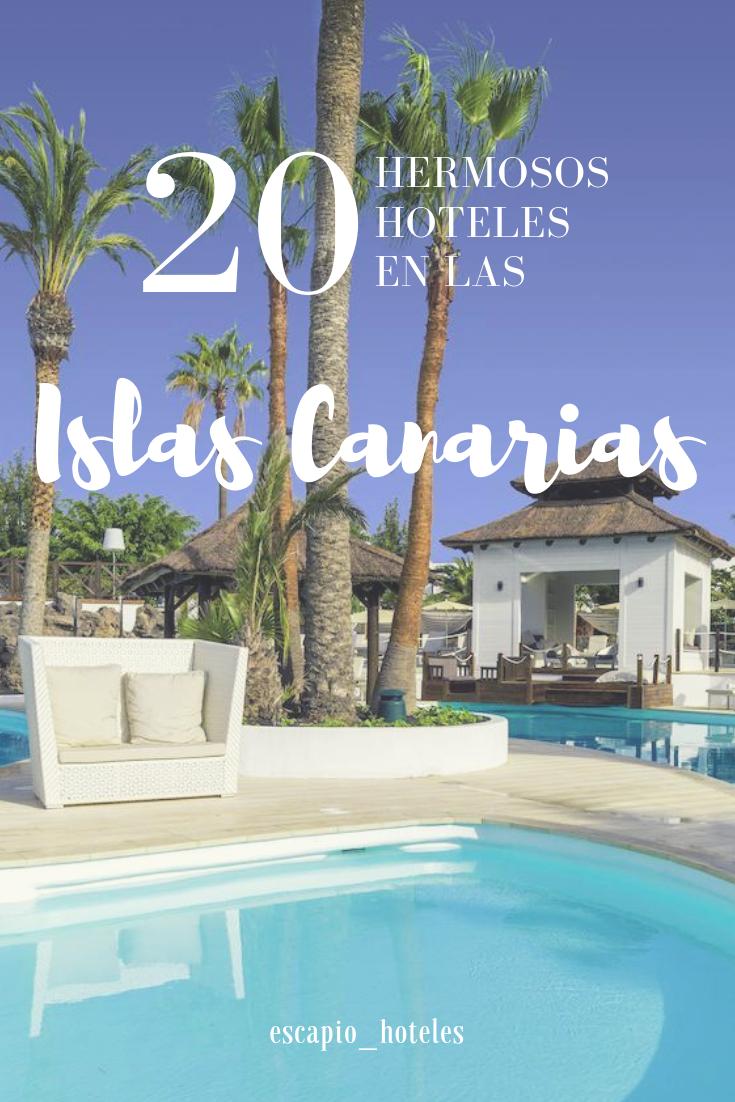 Descubre Ahora Los 20 Hoteles Mas Bonitos En Las Islas Canarias Islascanarias Canarias Espana Viajar Vacaciones Verano P Outdoor Outdoor Decor Pool