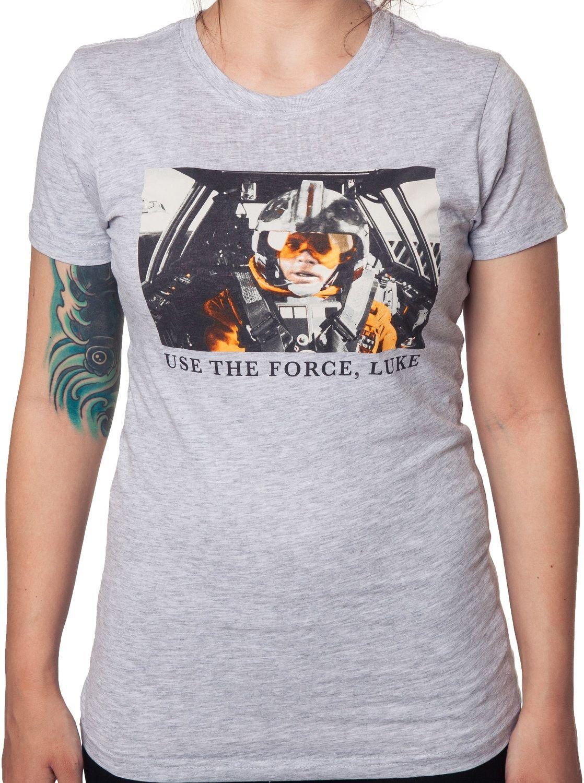 Use The Force Luke Star Wars Shirt
