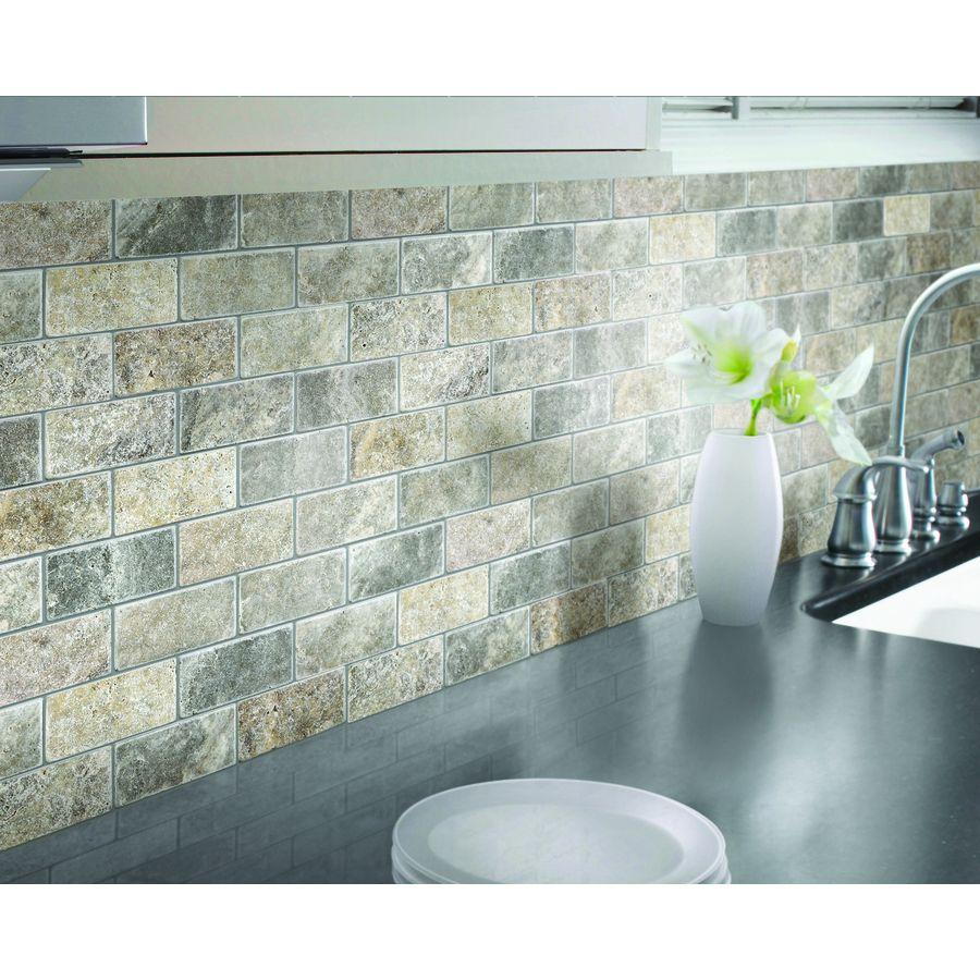 natural stone mosaic subway wall tile