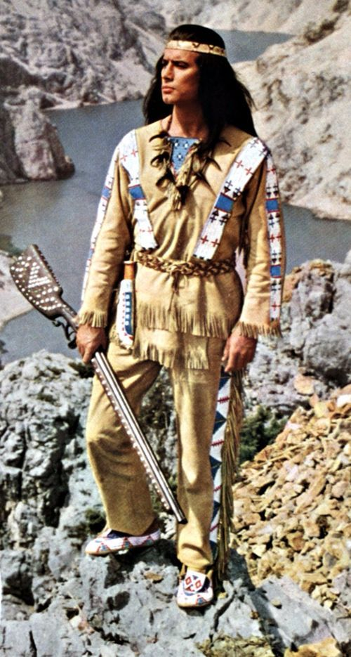 Pierre Brice, Was A French Sctor, Best-Known As Fictional Apache-Chief. Winnetou