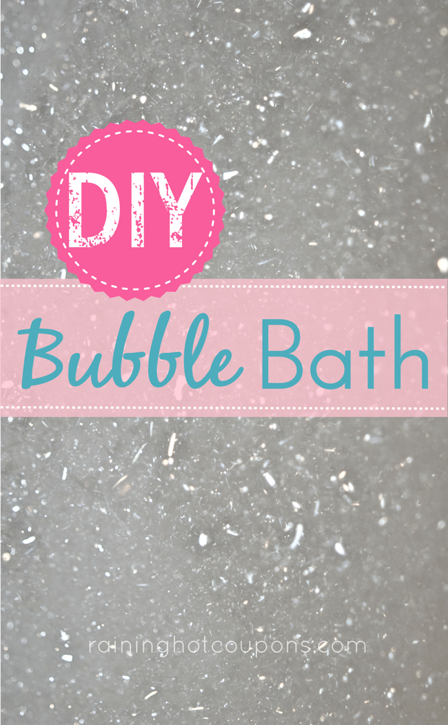 Image result for diy bubble bath
