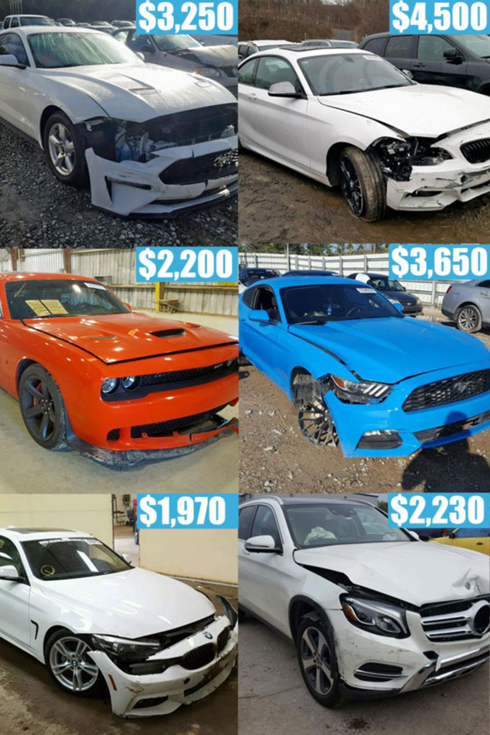 1995 2019 Damaged Cars Trucks Suv For Sale Save Thousands On