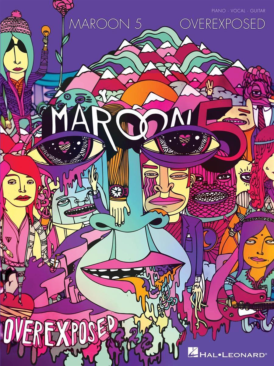 Maroon 5 Overexposed Music Album Cover Maroon 5 Album Covers