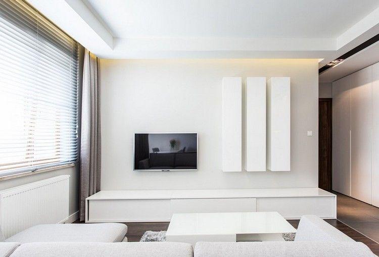 minimalistische Wohnzimmereinrichtung in weiß wohnzimmer - bilder wohnzimmer einrichtung weis