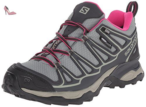 Salomon chaussures L37916600, chaussures Salomon de randonnée femme, Gris, 40 EU 10f410