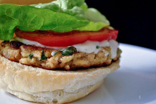 Burger di pesce ricetta