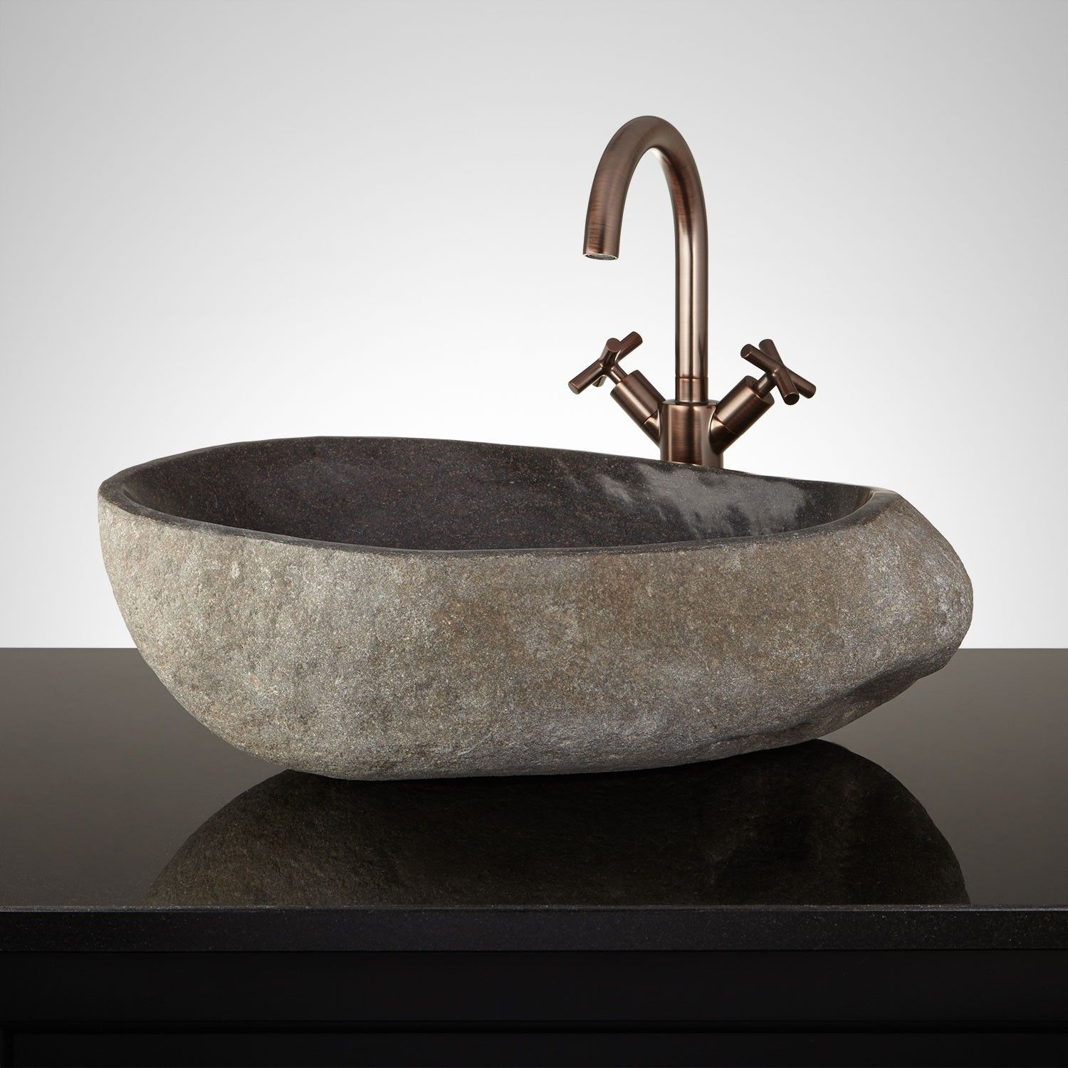 Among The Various Sinks You Can Choose For Your Bathroom A Vessel Sink Is Surely The Most Stylish And Innovative One Wi Stone Vessel Sinks Bathroom Sink Sink