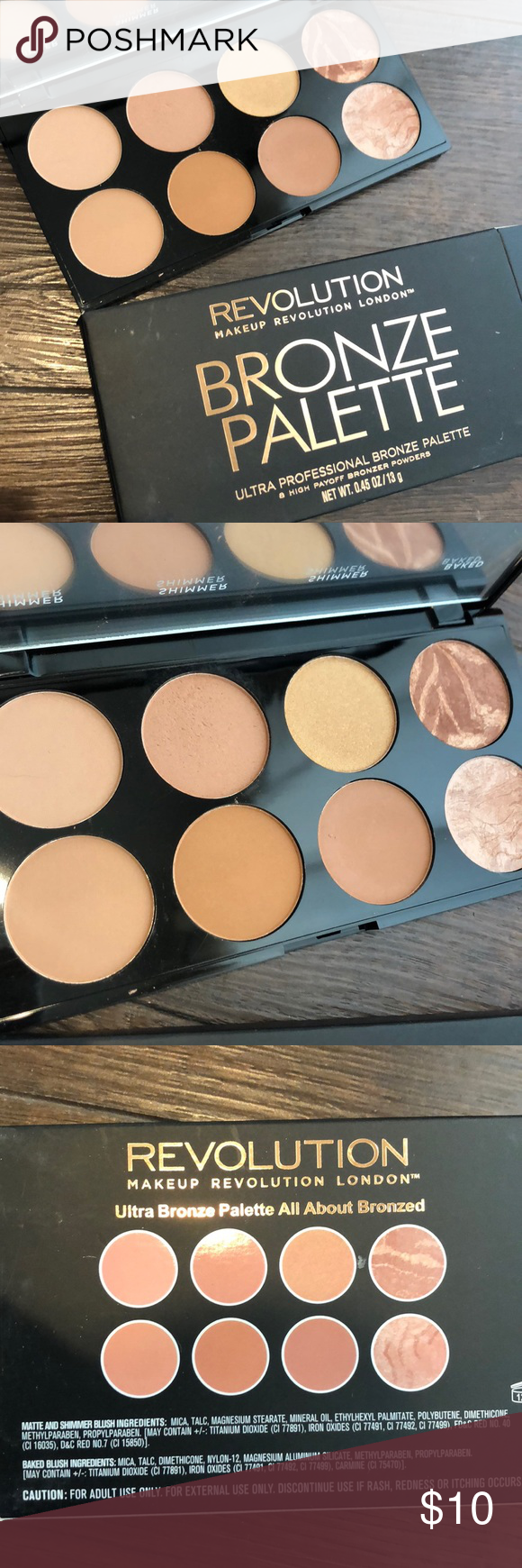Makeup Revolution Ultra Bronzer Palette Only one shade was