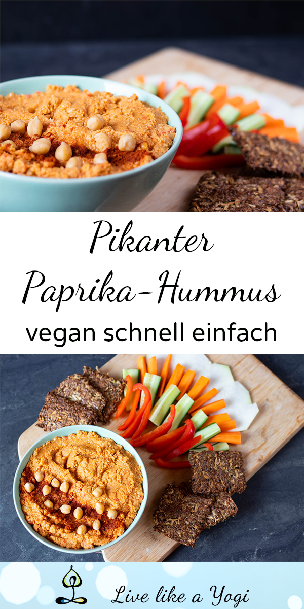 Photo of Pikanter Hummus mit Paprika – Live Like A Yogi