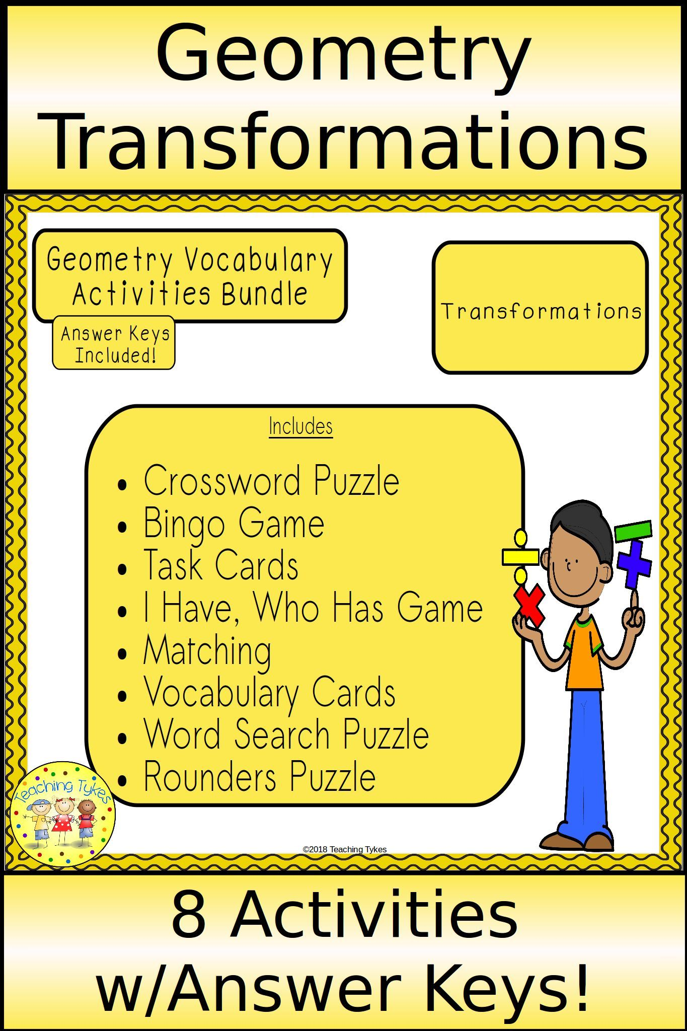 Transformations Geometry Bundle With Images