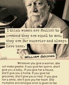 On william women golding Sir William
