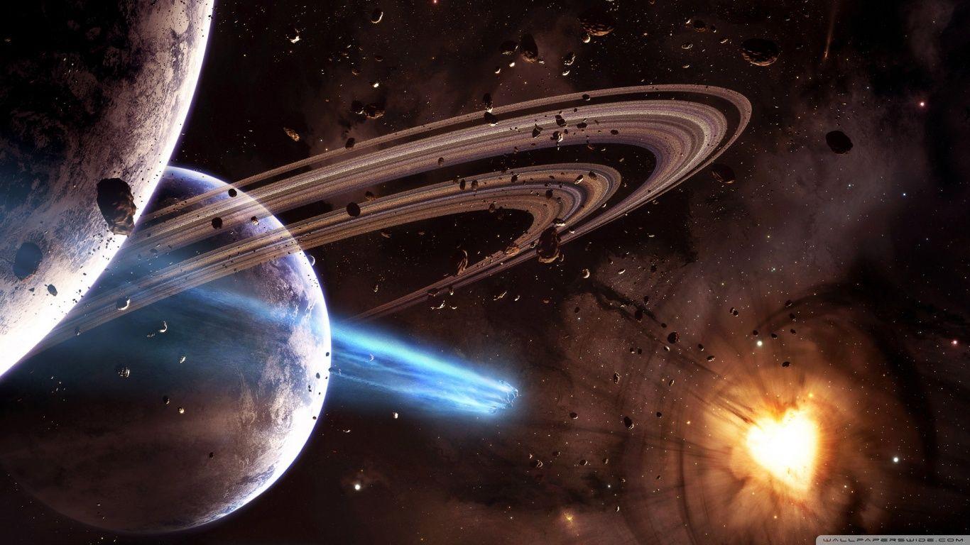 Hd wallpaper universe - Hd Universe Space Planets Wallpaper Widescreen Full Size