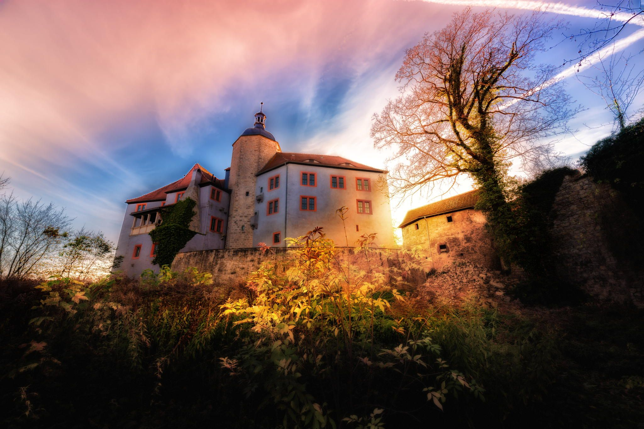 Das Alte Schloss by Simon Formanowski on 500px | Dornburger Schlosser Germany