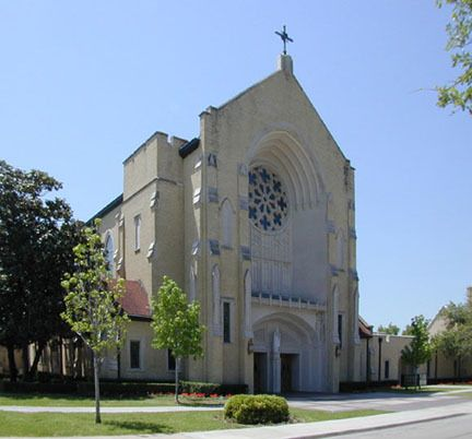 Thomas Aquinas Catholic Church Dallas Texas My Family Is One Of The Original Members This Parish We Were Extremely Active And Spent Much Time Here