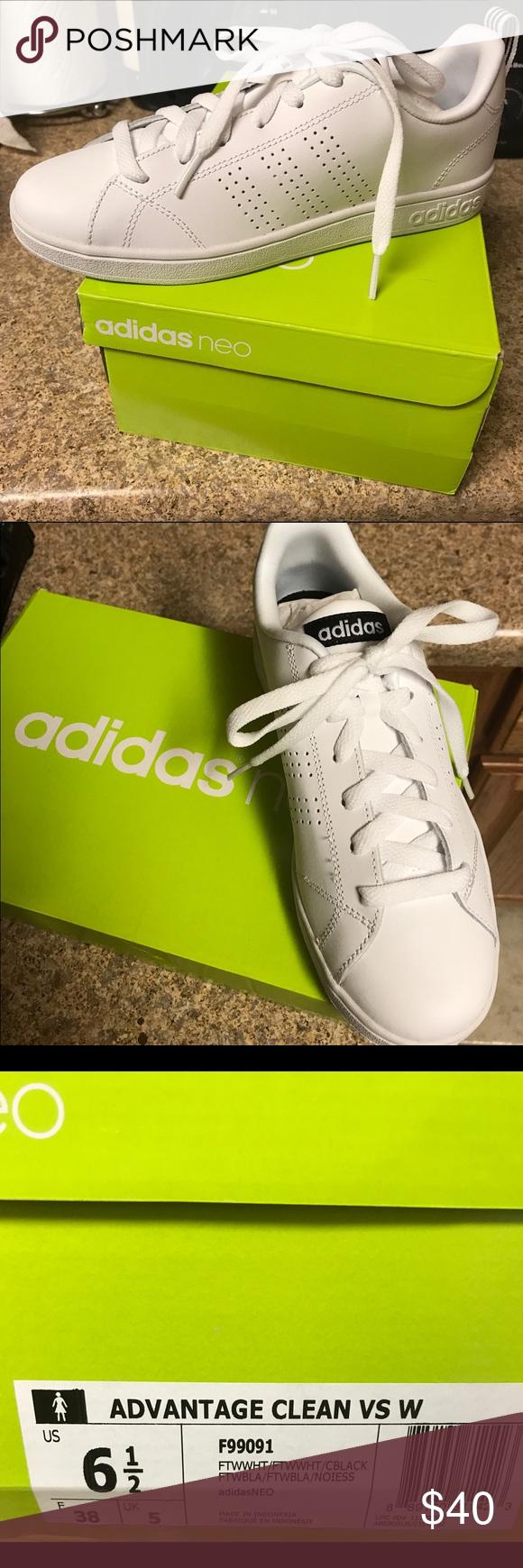 le adidas neo cloudfoam vantaggio pulito nuovi tag ancora