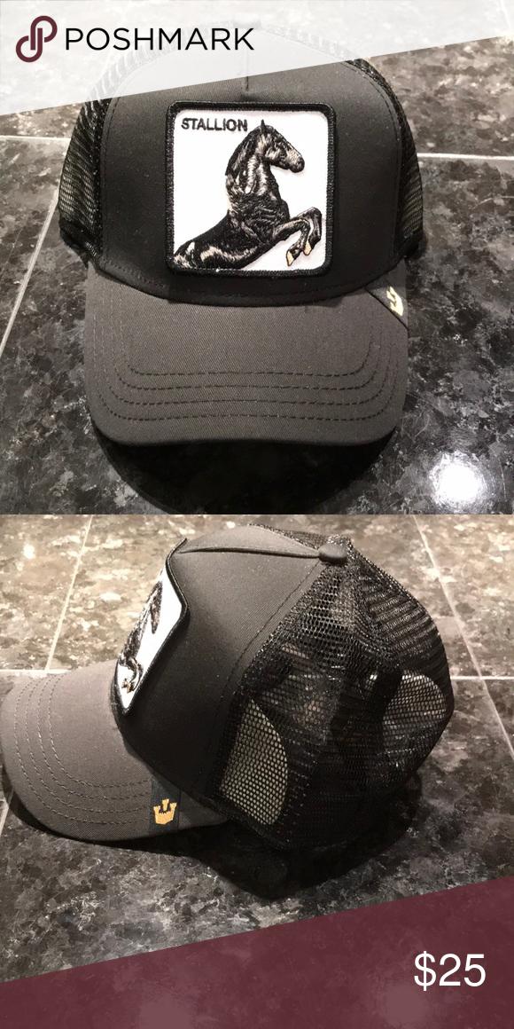 434fd736abf212 I just added this listing on Poshmark: Black Stallion Goorin Bros Trucker  Hat. #shopmycloset #poshmark #fashion #shopping #style #forsale #Goorin Bros  # ...