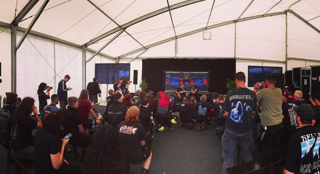"Tarja Turunen Press Conference ""Wacken Open Air 2016"" 04/08/2016 #tarja #tarjaturunen #wackenopenair #wacken #wacken2016 PH: Tarja https://www.instagram.com/tarjaofficial/"