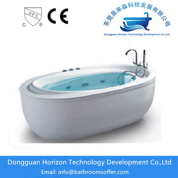 China Standing alone soaker tubs with jets Manufacturers | Horizon ...