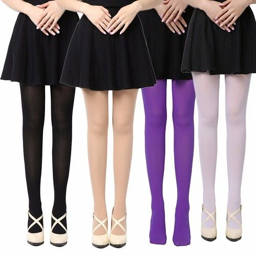 a6cacaad6 NEW Women Girls 8 Colors Beautiful Opaque Footed Tights Sexy Pantyhose Leg  Warmers ITC762. Starting at  8