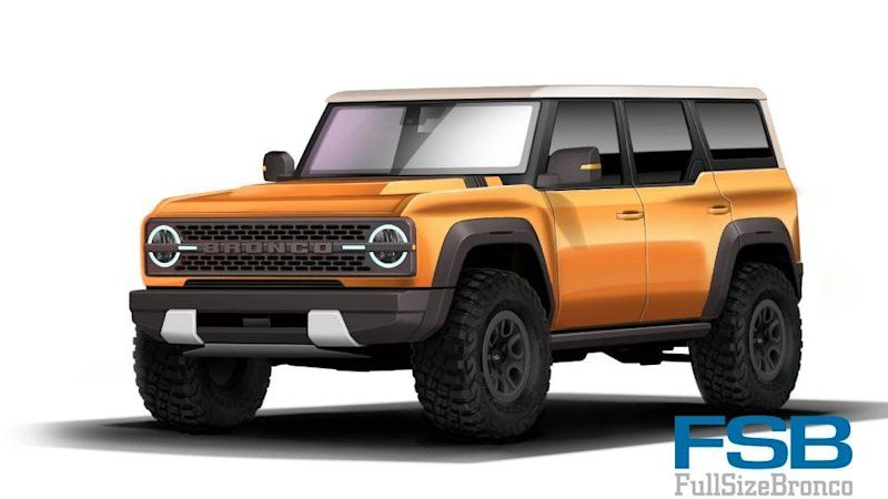 possible 2021 ford bronco exterior paint palette leaks in on new paint color for 2021 id=82653