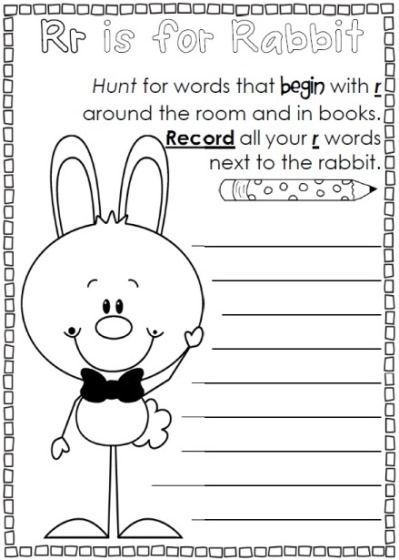 Easter Reading and Writing Worksheets Easter worksheets