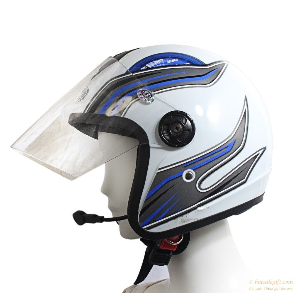 Bluetooth Motorcycle Helmet Headset Earphone with Mic gift