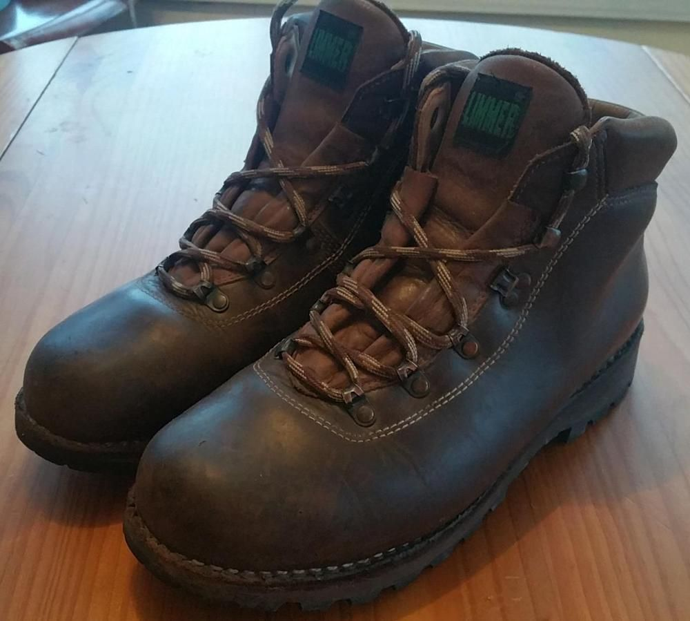 AMAZING LIMMER HIKING BOOTS US SIZE 11.5 WIDE MADE IN GERMANY ...
