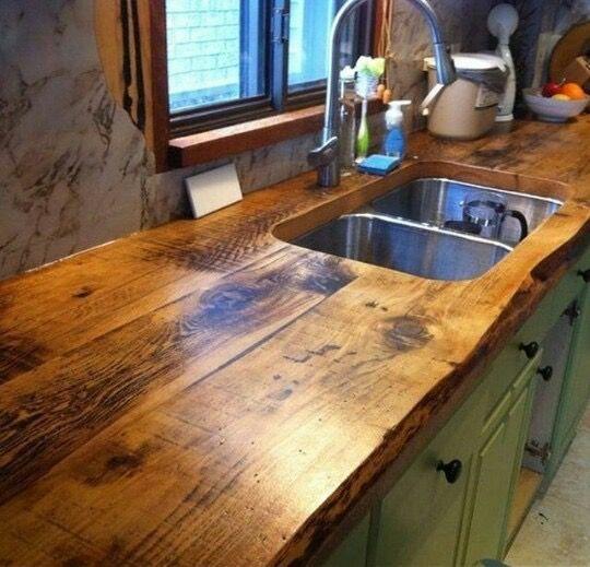 Rustic Kitchen Countertops: Pin By Krista Egan Montesano On My Dream House