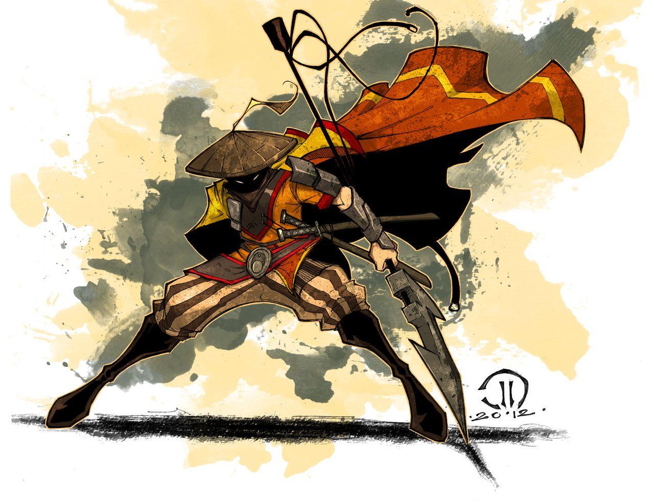 MC Monk action by *JoeyVazquez on deviantART Character