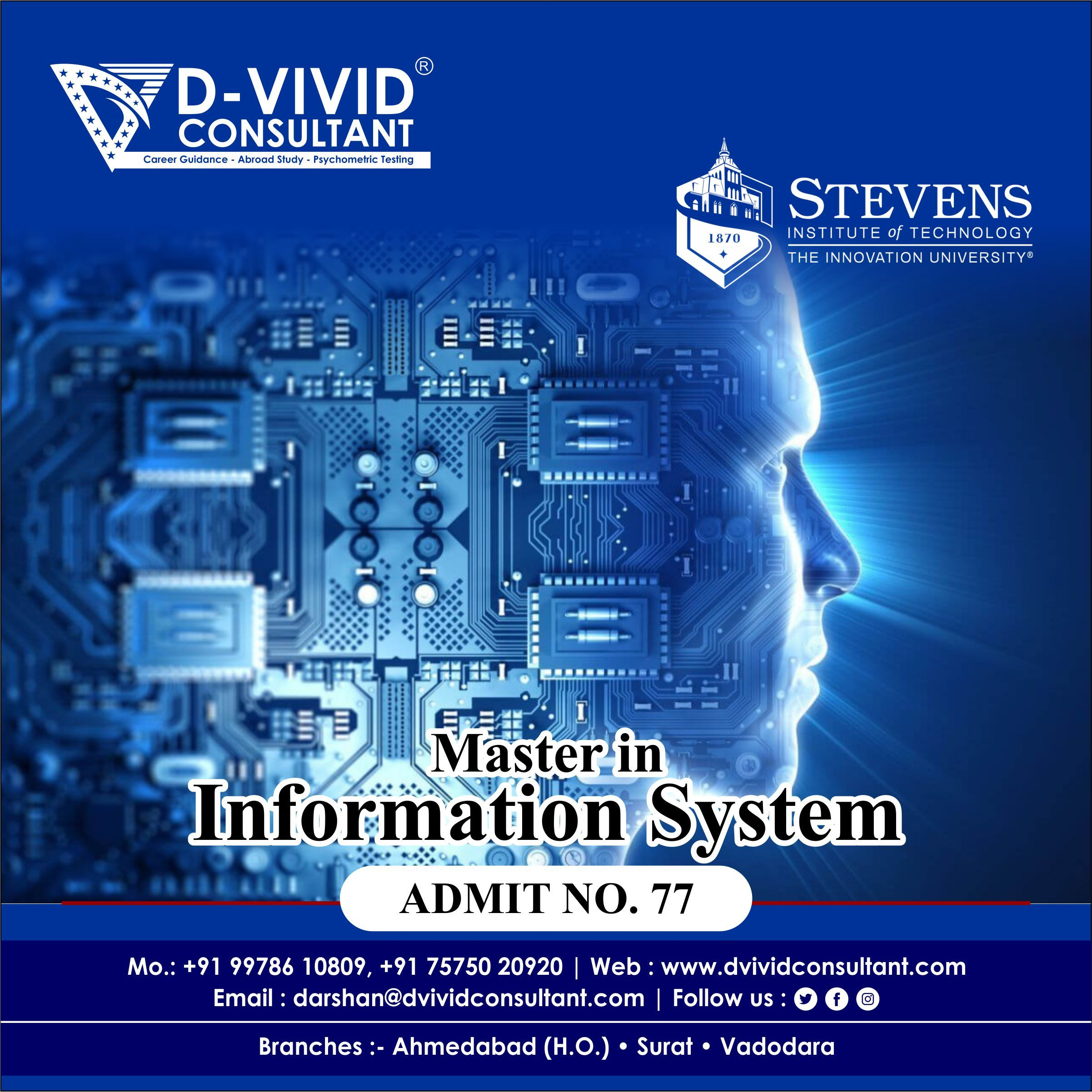 Admit Number 77 Stevens Institute Of Technology University System