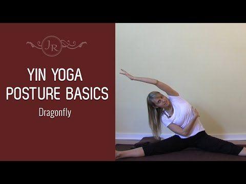 yin yoga posture basics  dragonfly pose  youtube  yin