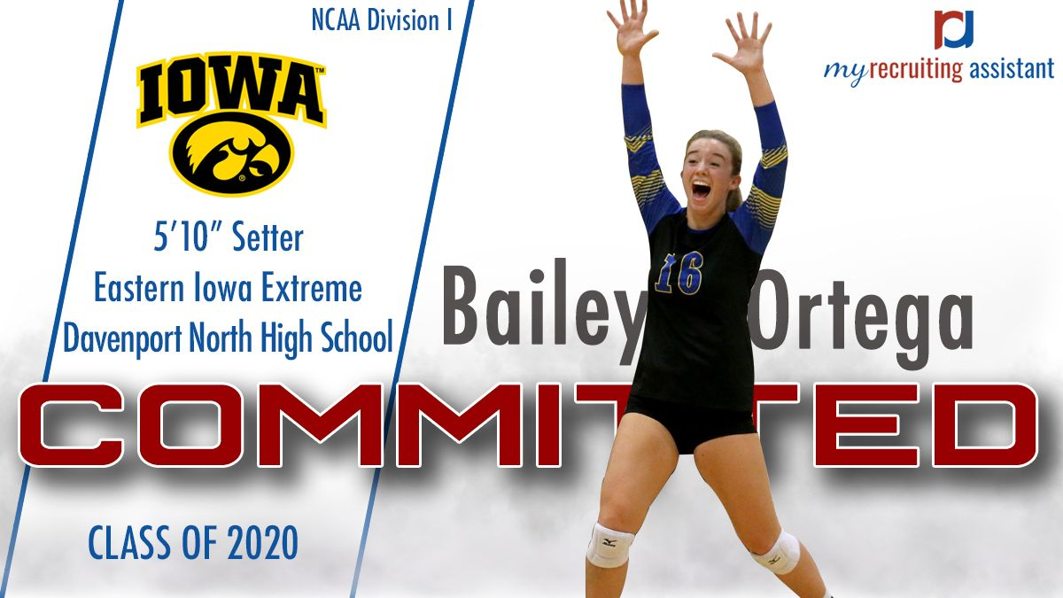 Class Of 2020 Ncaa Division I University Of Iowa Volleyball Commit Class Of 2020 Recruitment Iowa