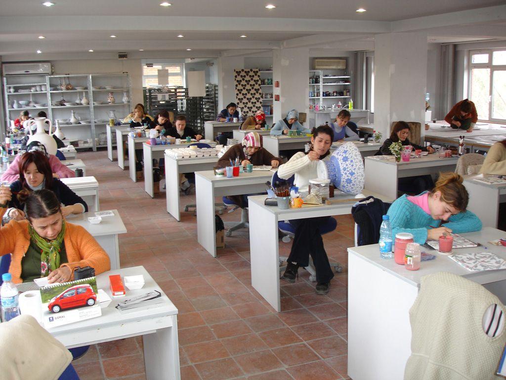 Iznik Foundaton Workshop, Iznik (Turkey)